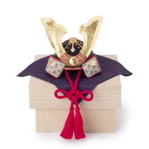 奈良一刀彫の兜飾り