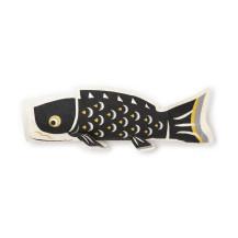 手漉き和紙の型染鯉のぼり