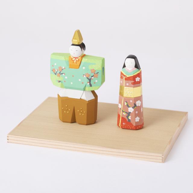 奈良一刀彫の雛飾り【予約商品:2/1~発送予定】