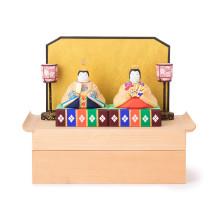 【予約商品】奈良一刀彫の雛飾り 座雛【1/12~順次発送予定】