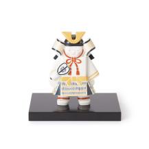 有田焼の武者飾り