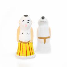 尾崎人形 化粧まわしのお相撲さん