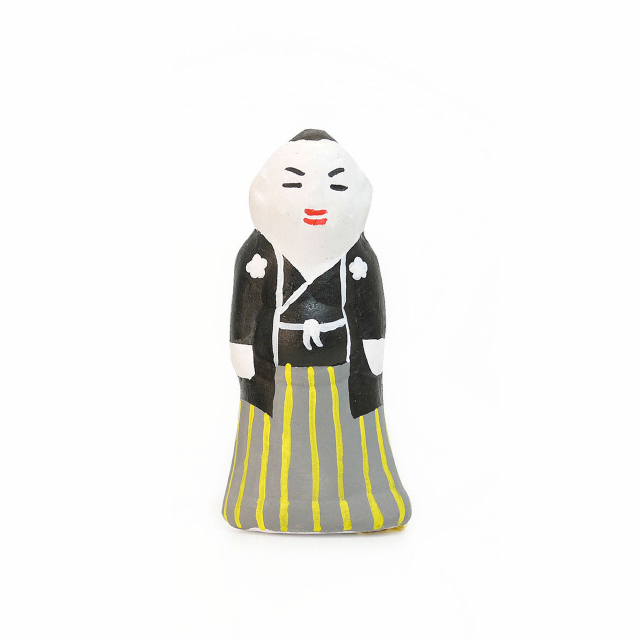 尾崎人形 袴のお相撲さん