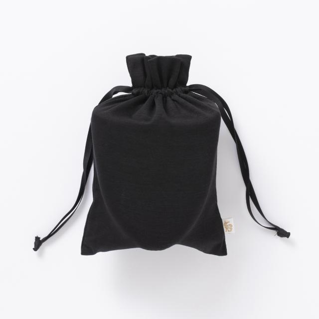 手織り麻を使った携帯スリッパ