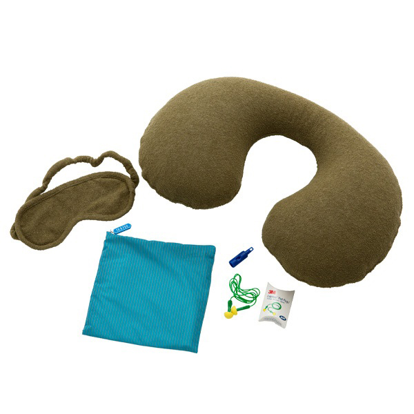 TO&FRO NECK PILLOW & EYE MASK SET
