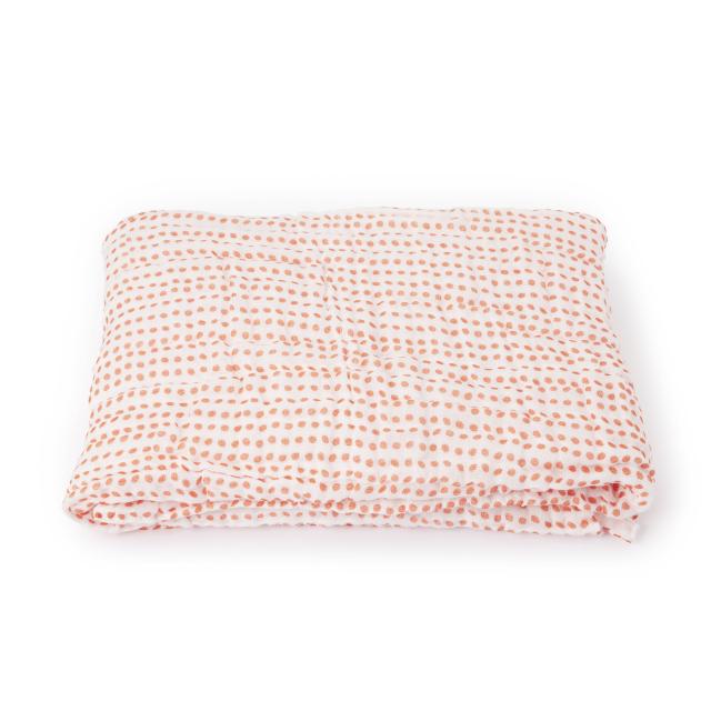 かや織ケット 豆紋