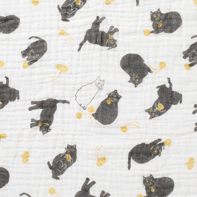 【オンラインショップ限定】【数量限定】かや織ケット猫