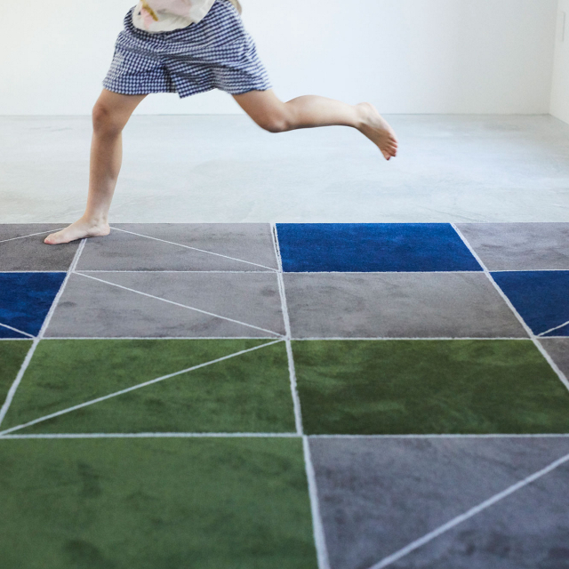 WOOL TILE SLASH