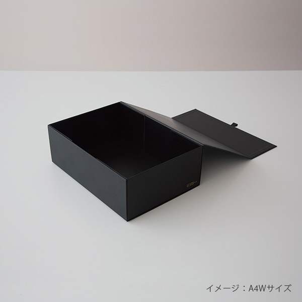THE STORAGE BOX A4Sサイズ BLACK