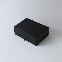 THE STORAGE BOX A4Wサイズ BLACK