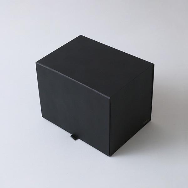 THE STORAGE BOX A4Fサイズ BLACK