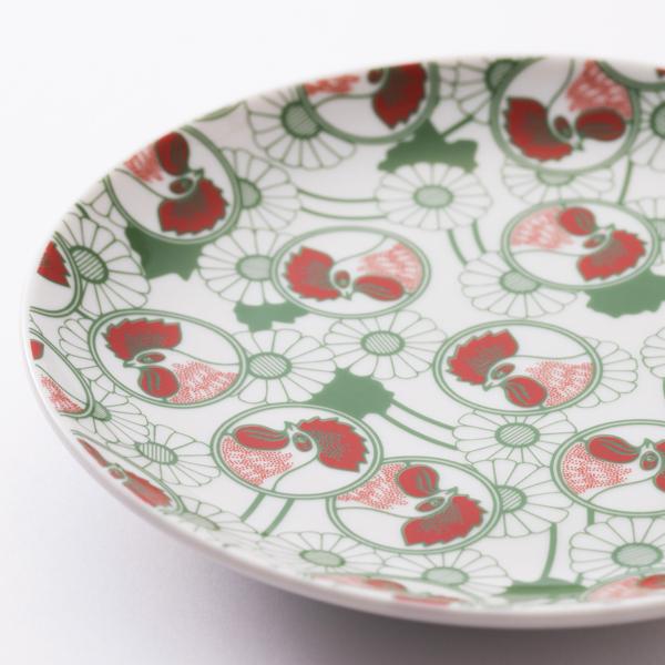 金鳥の夏 日本の夏 九谷焼小皿