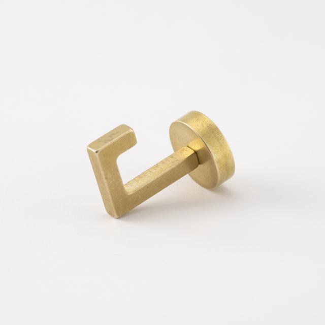 真鍮のマグネットフック 小