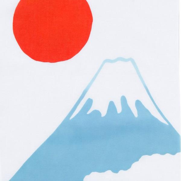 注染手拭い 富士山