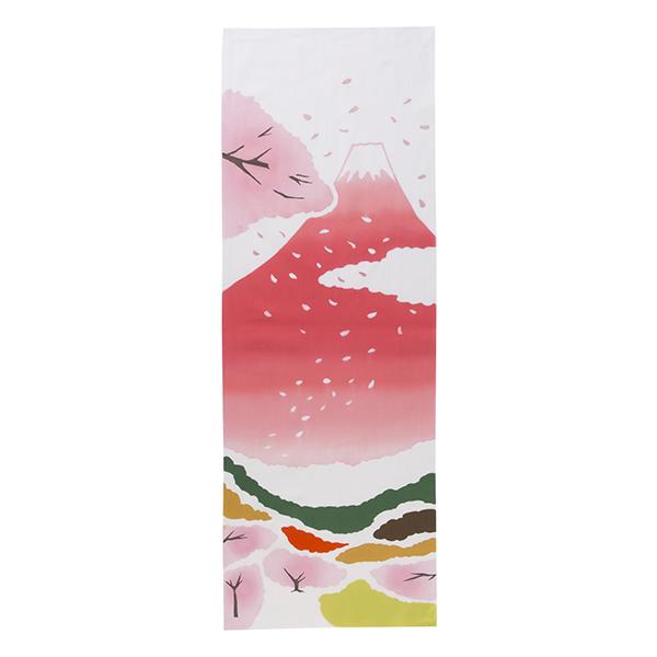 注染手拭い 桜富士