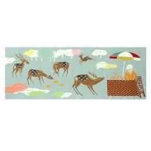 奈良てぬぐい鹿せんべい屋 冬