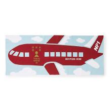 東京手捺染てぬぐい パスポート赤【ご当地ものセール】