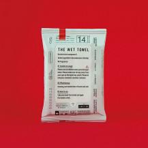 「消毒ができる」THE WET TOWEL ポケットタイプ 14枚入り×3個
