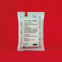 THE WET TOWEL ポケットタイプ 14枚入り×3個