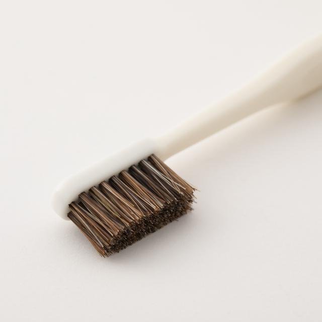 天然毛の歯ブラシ