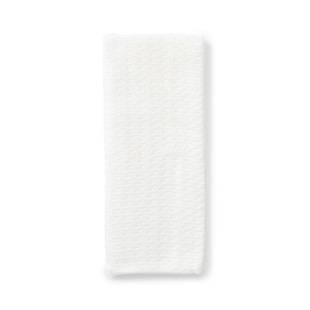 やさしく洗える綿レーヨンのボディータオル