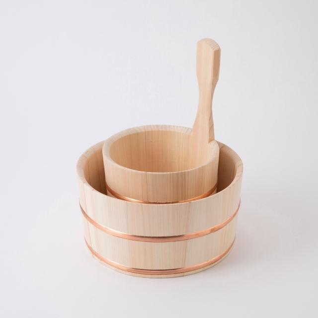 谷川木工芸 片手桶