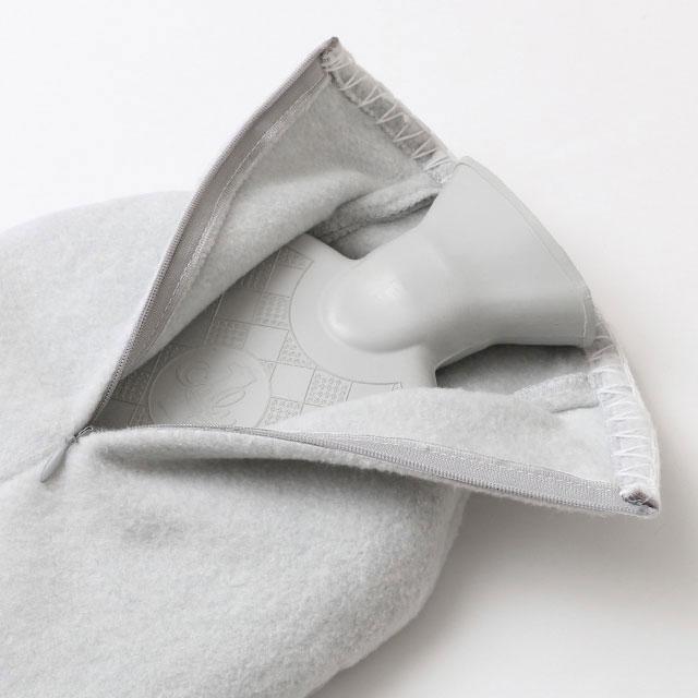 綿シルクの毛布湯たんぽ