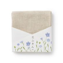 【直営限定】20色の花ふきん 麻