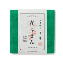 【WEB限定】よく吸ってすぐ乾く 花ふきん シロツメクサ