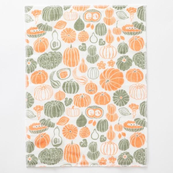 かや織ふきん かぼちゃ