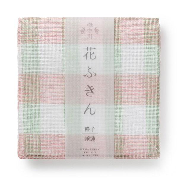 花ふきん 格子