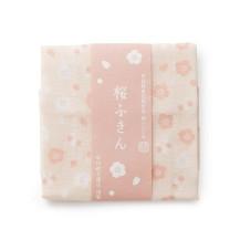 日本市小紋 桜ふきん 桜だんご