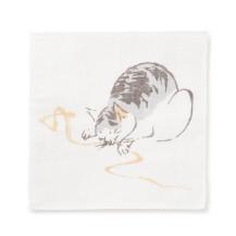 かや織ふきん 猫【夏セール2020】