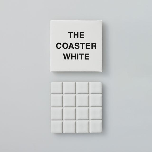 THE COASTER WHITE