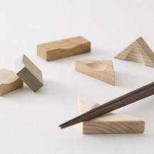 組み木の箸置き
