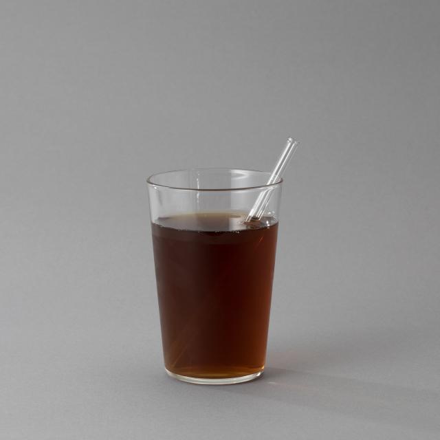 廣田硝子 ガラスストロ- 小 15cm
