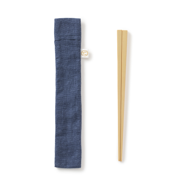 ごはん粒のつきにくい竹の弁当箸