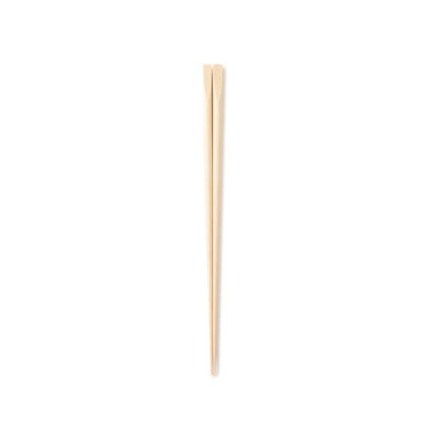 【WEB限定】ヤマチク 盛付箸 無塗装 28cm