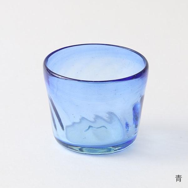 奥原硝子製造所 琉球ガラスの蕎麦猪口