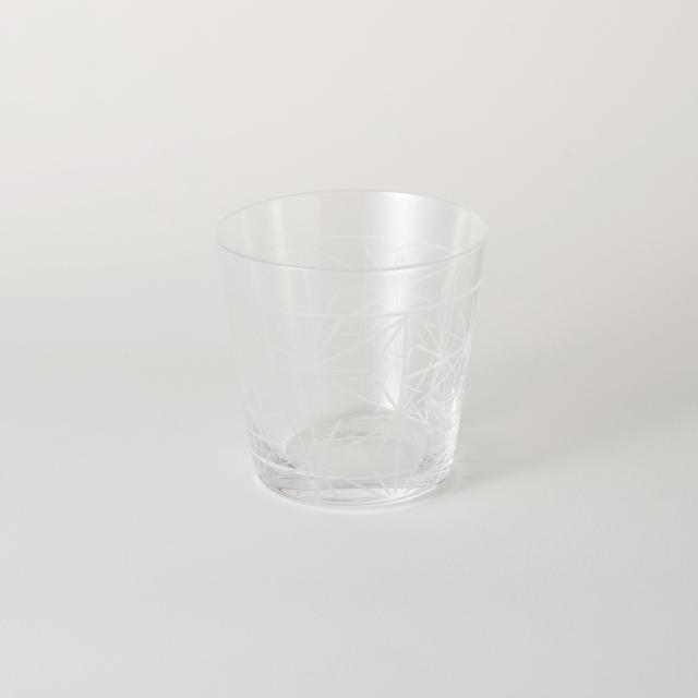 麻の葉切子グラス ショート