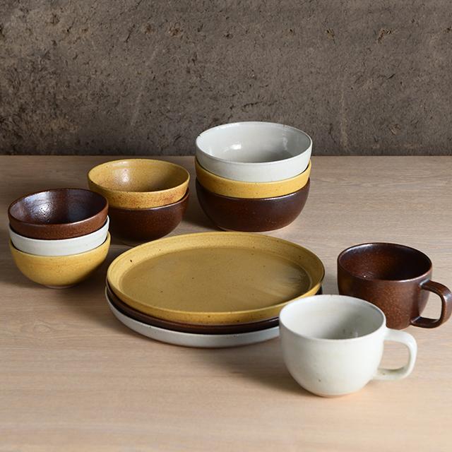 信楽焼のマグカップ