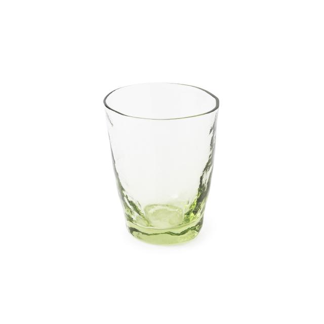 萩ガラス工房 緑の玄武岩ガラス