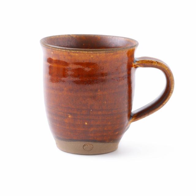 小鹿田焼のマグカップ