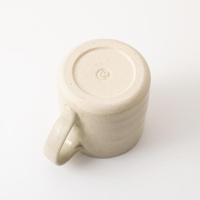 瀬戸焼のマグカップ