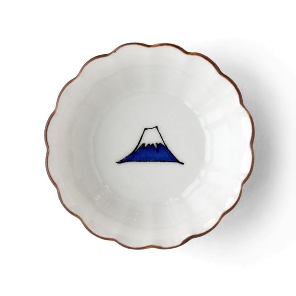 KUTANI SEAL 菊小鉢 富士山