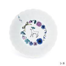 KUTANI SEAL AKKO 菊中鉢