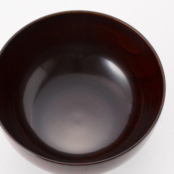 お椀や うちだ 木地呂椀 透き漆