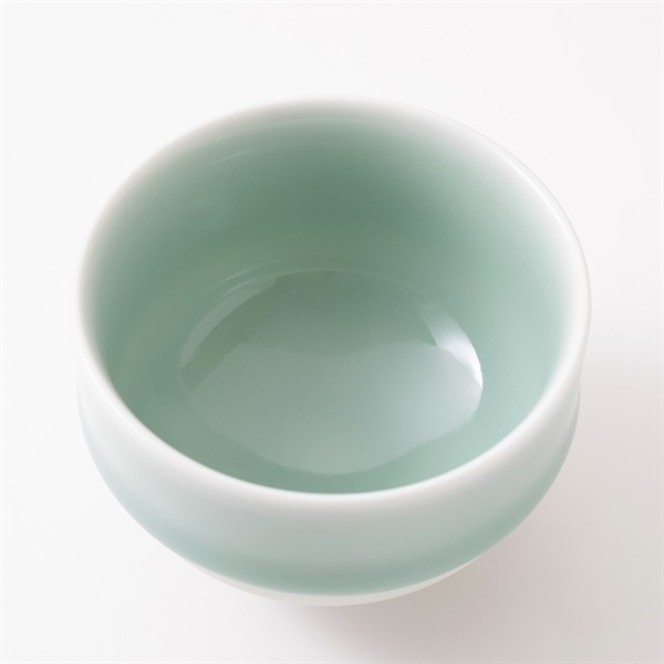 鍋島 虎仙窯 鍋島青磁 煎茶碗 2個入り
