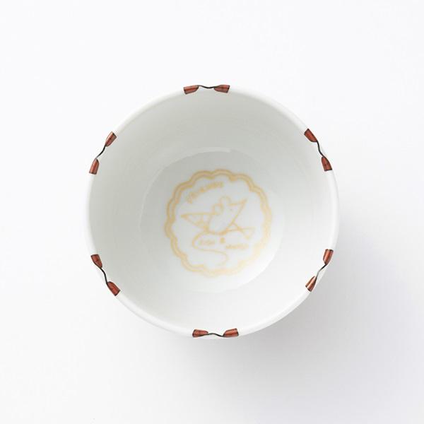 KUTANI SEAL TEA 茶わん 子猫