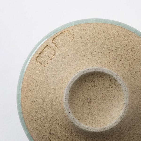 鍋島 虎仙窯 鍋島青瓷 貫入煎茶碗 2個入
